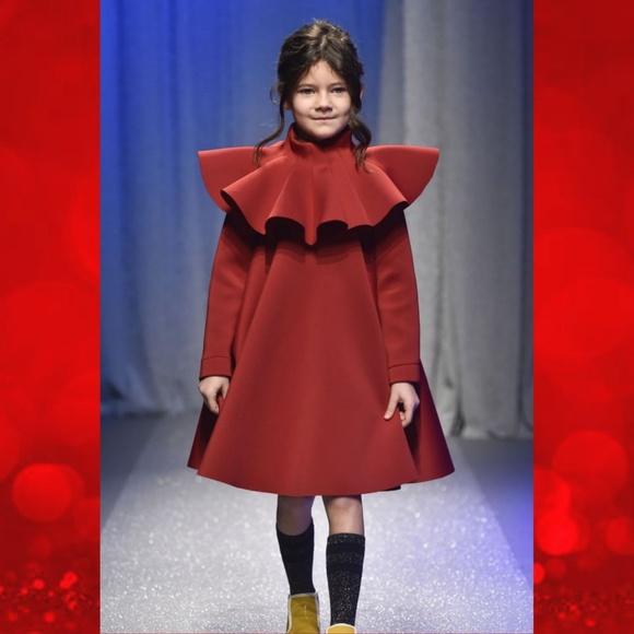 27de6b8df861c Nikolia Dresses | Peplum Collar Majesty Scuba Swing Dress | Poshmark